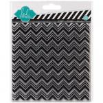Heidi Swapp Mixed Media Clear Stamps - Chevron [1143]