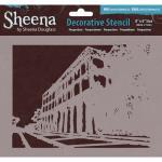 Sheena Douglass Decorative Stencil - Perspectives