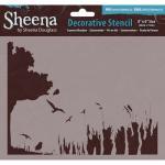 Sheena Douglass Decorative Stencil - Summer Meadow