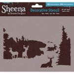 Sheena Douglass Decorative Stencil - Deer