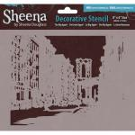 Sheena Douglass Decorative Stencil - Big Apple