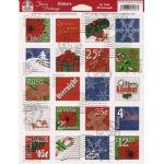 Design Originals Faux Postage - Christmas Postoids [1258]