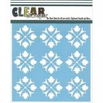 "Clear Scraps 6"" x 6"" Stencil - Celtic"