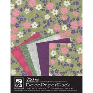 Black Ink Creative International Papers Deco Paper Pack [DP-709] Sakura