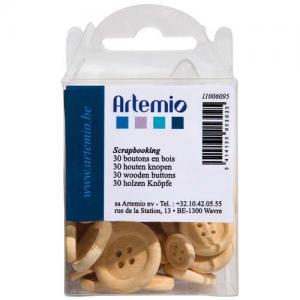 Artemio Wooden Buttons [6095]