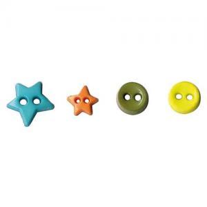Artemio Mini Shaped Buttons - Street [6549]