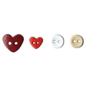Artemio Mini Shaped Buttons - Love [6551]