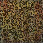 """7 Gypsies 12"""" x 12"""" Flocked Paper - [19321] Gypsy Market, Jai"""