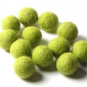 HandBEHG Wool Felt Balls - 2CM [Kiwi]