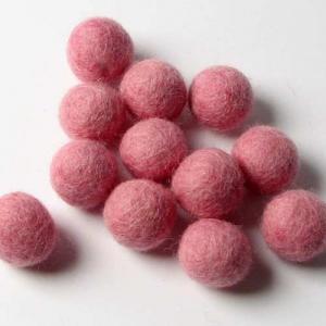 HandBEHG Wool Felt Balls - 2CM [Poodle]