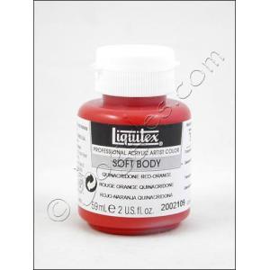 Liquitex Soft Body Acrylic 2 oz. Jar - Quidnacridone Red-Orange [2002109]