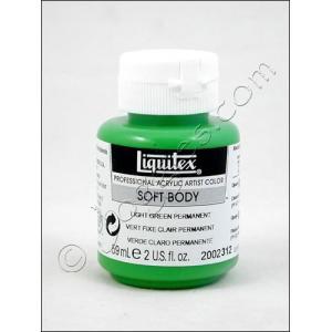 Liquitex Soft Body Acrylic 2 oz. Jar - Light Green Permanent [2002312]