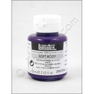 Liquitex Soft Body Acrylic 2 oz. Jar - Phthalocyanine Blue (Red Shade) [2002314]