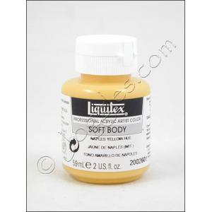 Liquitex Soft Body Acrylic 2 oz. Jar - Naples Yellow Hue [2002601]