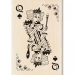 Inkadinkado - [60-00921] Witch Queen Playing Card
