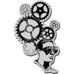 Stampendous Cling Rubber Stamps - Gear Head [CRM267]