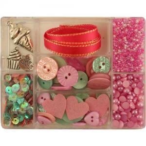 28 Lilac Lane Embellishment Kit - Hello Cupcake