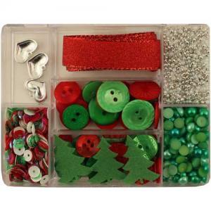 28 Lilac Lane Embellishment Kit - Holly Jolly