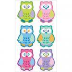 EK Success Sticko Plus Stickers [31037] Patterned Owls