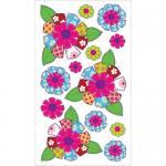 EK Success Sticko Plus Stickers [40004] Patterned Flowers