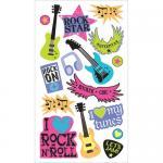 EK Success Sticko Plus Stickers [40053] Rocker Chic