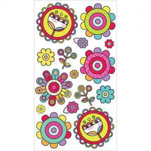 EK Success Sticko Stickers [20197] Fun Funky Flowers