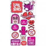 EK Success Sticko Plus Stickers [20200] Stupid Cupid