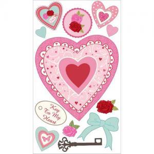 EK Success Sticko Stickers [31020] Layered Hearts