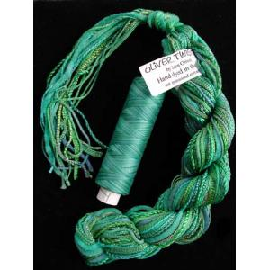 Oliver Twists Two of a Kind - 20 Emerald Blue