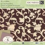 "K & Company Flora & Fauna by Brenda Walton - [613683] 12"" x 12"" Glitter Paper Pack"