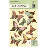 K & Company Engraved Garden - [30-619098] Mariposas Grand Adhesions