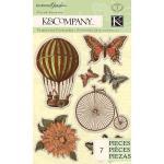 K & Company Engraved Garden - [30-619227] Icon Pillow Stickers