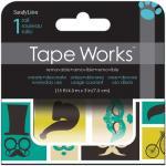 Tape Works Accent Tape - [SCT2104] Mustache, Balloon, Eiffel Tower