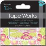 Tape Works Accent Tape - [SCT2124] Bright Floral