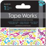 Tape Works Accent Tape - [SCT2125] Music Notes
