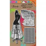 Stampendous Cling Rubber Stamps - Dress Form [CRS7002]