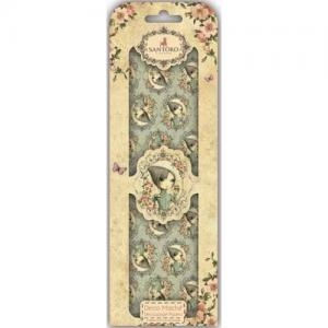 Santoro Mirabelle Deco Mache Sheets - If Only 5 Character Cameo [SNDEC011]