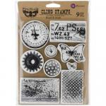 Finnabair Cling Stamps - Rust and Dust [962050]