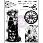 Finnabair Cling Stamps - Now Is The Right Time [962067]