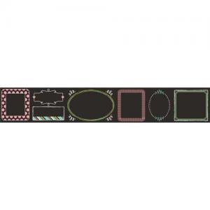 Hazel & Ruby Fat Roll Washi Tape - Chalk It Up [WT359]