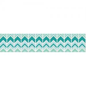 Hazel & Ruby Fat Roll Washi Tape - Crazy For Chevy Teals [WT360