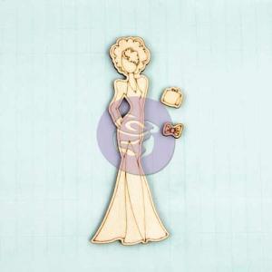 Prima / Julie Nutting Wooden Dolls - [910617] Morgan