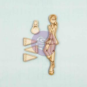 Prima / Julie Nutting Wooden Dolls - [910624] Ariana