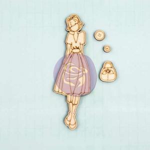 Prima / Julie Nutting Wooden Dolls - [910631] Naomi - ON SALE!