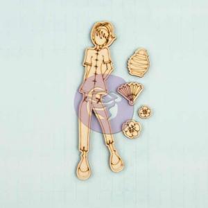 Prima / Julie Nutting Wooden Dolls - [910662] Chloe - ON SALE!