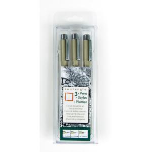 Micron Pigma Pen Zentangle Set - 3 Piece [50012]
