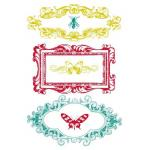 """Prima 4"""" x 6"""" Clear Stamps - [536336] Insectae"""