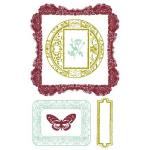 """Prima 4"""" x 6"""" Clear Stamps - [536367] Victorian Frames"""