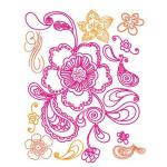 Prima Clear Stamps - [542030] Paisley Road