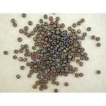 Miyuki 6/0 Seed Beads - 135FR Matte Translucent Root Beer AB